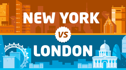 NY vs London