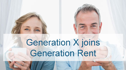 Generation X Joins Generation Rent